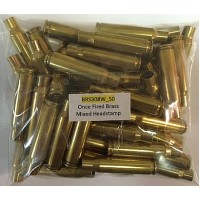 .308 Win Once Fired Brass -50 ct.