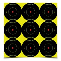 "Shoot•N•C® 2"" Bull's-eye Target 12 Pack"