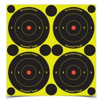 "Shoot•N•C® 3"" Bull's-eye Target 12 Pack"