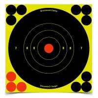 "Shoot•N•C® 6"" Bull's-eye Target 60 Pack"