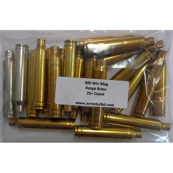 300 win mag range brass 20 ct