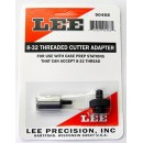 LEE 8-32 THREADED CUTTER ADAPTER