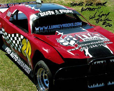Titan Reloading Race Car
