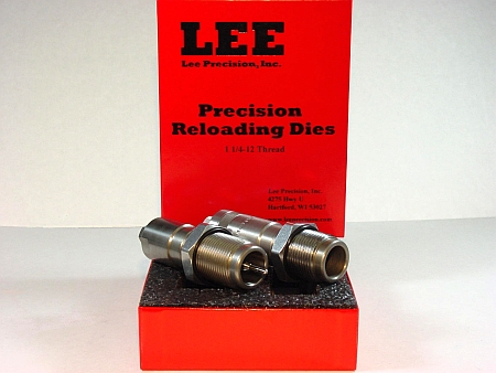 lee precision reloading dies - 1 1/4 - 12 thread
