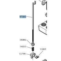 DILLON 550 FAILSAFE ROD ASSEMBLY