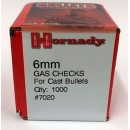 6mm Gas Checks, Hornady 1000