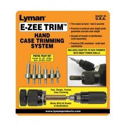 "Lyman ""E-ZEE Trim"" Hand Case Trimmer - Pistol Set"