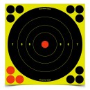 "Shoot•N•C® 8"" Bull's-eye Target 6 Pack"