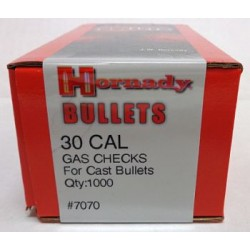 30 Cal Gas Checks, Hornady 1000