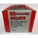 32 Cal/8mm Gas Checks, Hornady 1000