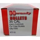 35 Cal Gas Checks, Hornady 1000