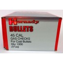 45 Cal Gas Checks, Hornady 1000