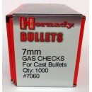 7mm Gas Checks, Hornady 1000