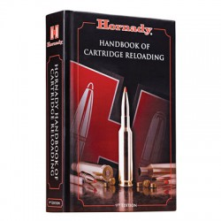 "Hornady 9th edition ""Handbook of Cartridge Reloading"""