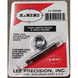 6.5 CARCANO LEE CASE LENGTH GAUGE/SHELL HOLDER