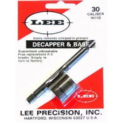 LEE 30 CAL DECAPPER & BASE
