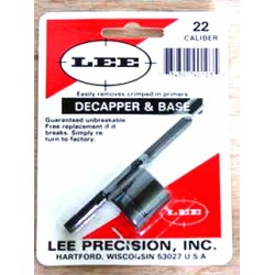 LEE 22 CAL DECAPPER & BASE