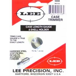 9mm LUGER  LEE CASE LENGTH GAUGE/SHELLHOLDER