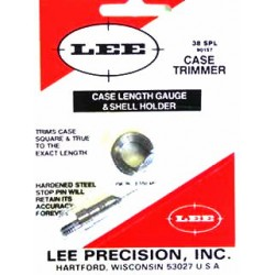 38 SPEC LEE CASE LENGTH GAUGE/SHELL HOLDER
