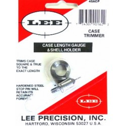 45 ACP LEE CASE LENGTH GAUGE/SHELLHOLDER
