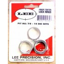 "LEE DIE LOCKING RINGS 7/8""-14 THREAD(Pkg of 3)"