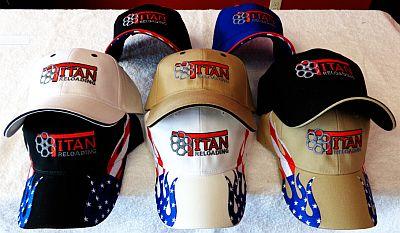 Titan Logo Hats