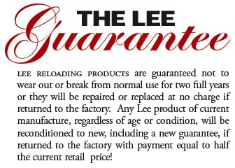 The Lee guarantee