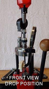 Turret Press Front View Drop Position