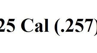 25 Caliber (.257)