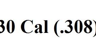 30 Caliber (.308)