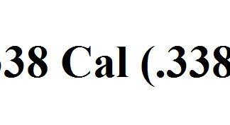 338 Caliber (.338)