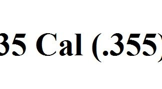 35 Caliber (.355)