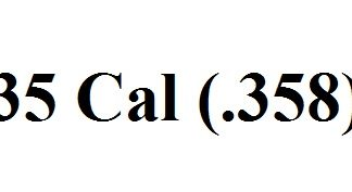 35 Caliber (.358)