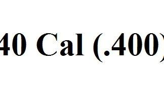 40 Cal (.400)