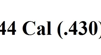 44 Cal (.430)