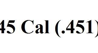 45 Cal (.451)