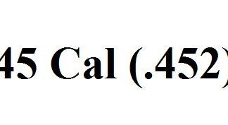 45 Cal (.452)