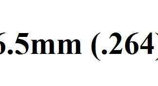 6.5mm (.264)