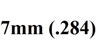 7mm (.284)