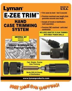 "Lyman ""E-ZEE Trim"" Hand Trimmer"