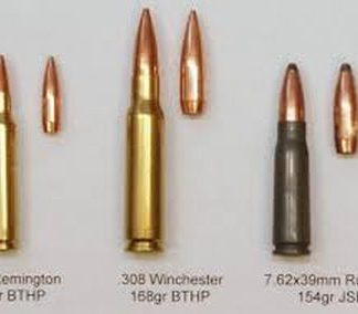Jacketed Rifle Bullets